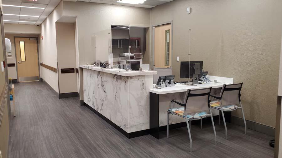 medex surgical center front desk